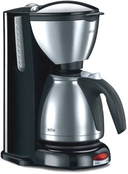 Braun Coffee Maker How To Use : Braun KF600 Coffee Maker Impression Series Stainless Steel