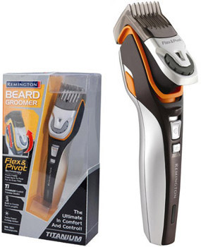 remington mb350 titanium rechargeable beard groomer. Black Bedroom Furniture Sets. Home Design Ideas