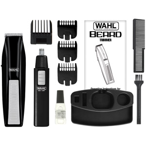 wahl battery operated beard trimmer 3249. Black Bedroom Furniture Sets. Home Design Ideas