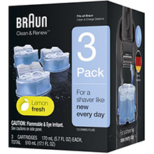 Braun CCR3 Clean & Renew